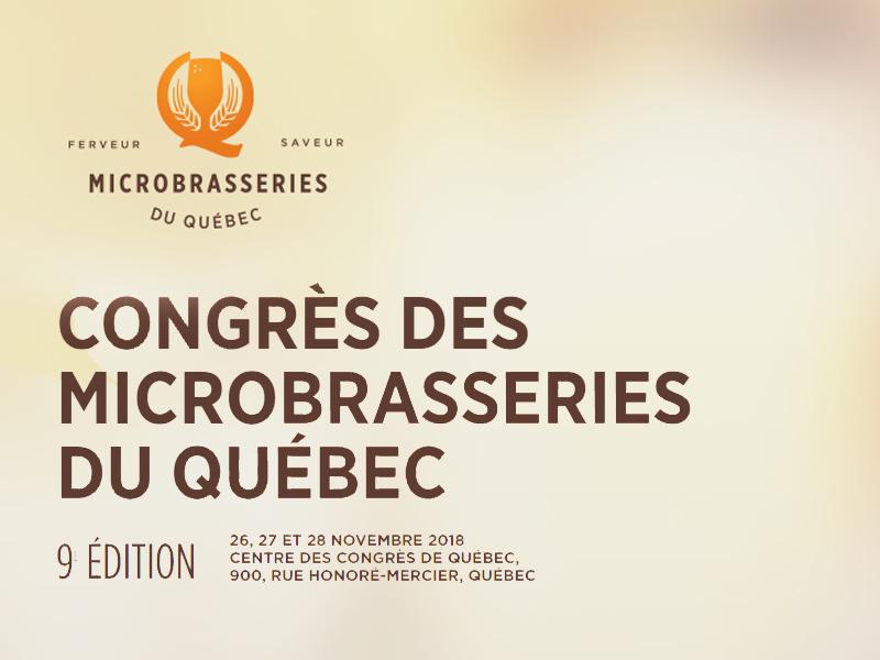 WEGOTRADE au Congrès des microbrasseries du Québec 2017